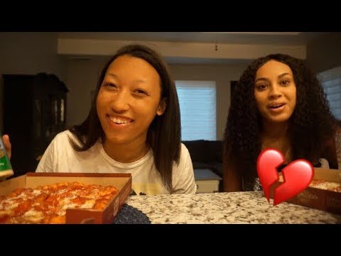 PIZZA MUKBANG (BEING SINGLE, RELATIONSHIP ADVICE, & MORE...)