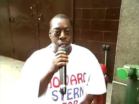 Howard Stern Beetlejuice at the 'How to Pick up Women' Seminar / Throws Up [VIDEO] 1999