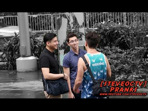 TRYING TO PICK UP GUYS IN SINGAPORE PRANK 2016 | MERLION CITY | SINGAPOREAN GUY