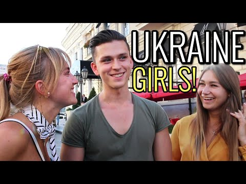 What Ukrainian girls in Odessa think of foreign guys! Street Interviews