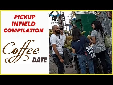 Meeting women in India -- Infield Pickup| Pickup in India | Pickup Artist India