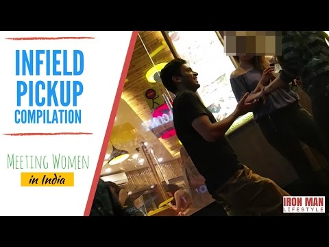 Meeting Women in India -- Infield Pickup Compilation (Daygame/ Street) - Pickup Artist India
