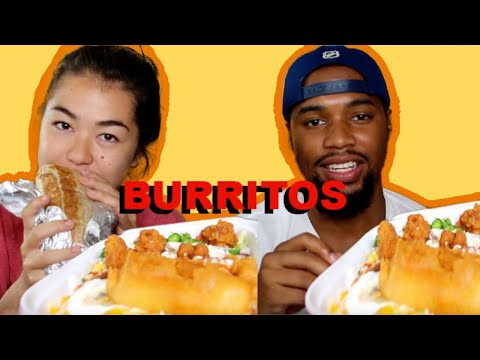 BURRITO MUKBANG/ RELATIONSHIP ADVICE!!!/HILARIOUS!!